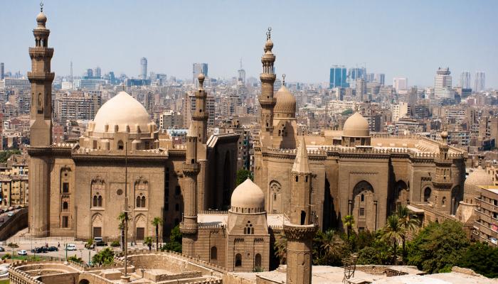 وصف مدرسة السلطان حسن في مصر