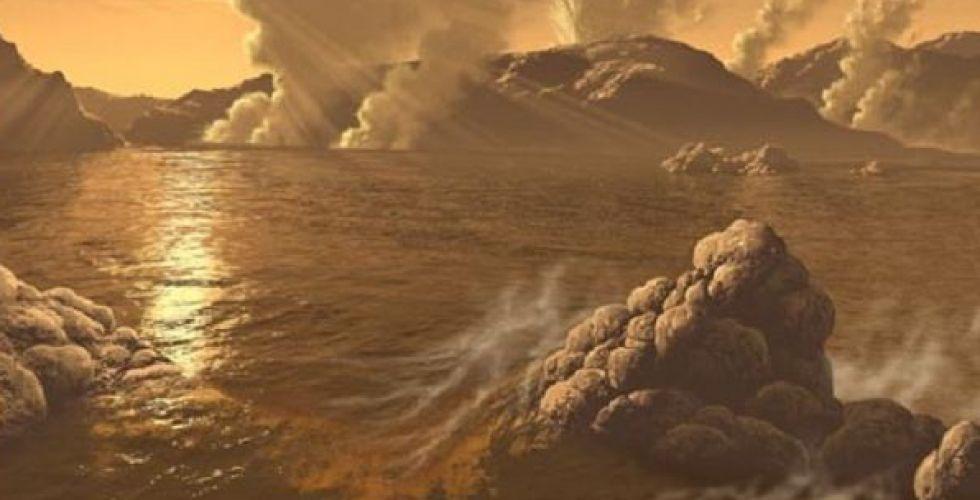أمطار الكواكب الأخرى
