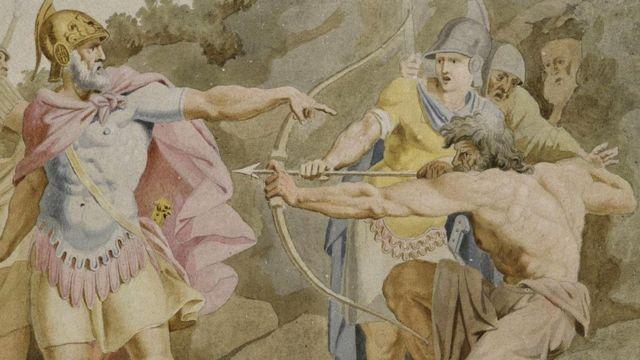 هوميروس الألياذة الأوديسا