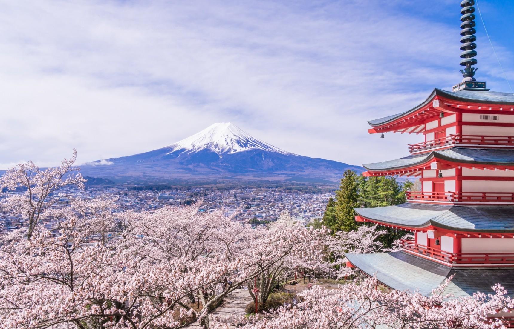 جبل فوجي … أكثر معالم اليابان شهرة