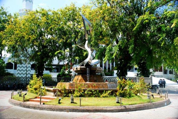 حديقة منزل السلطان