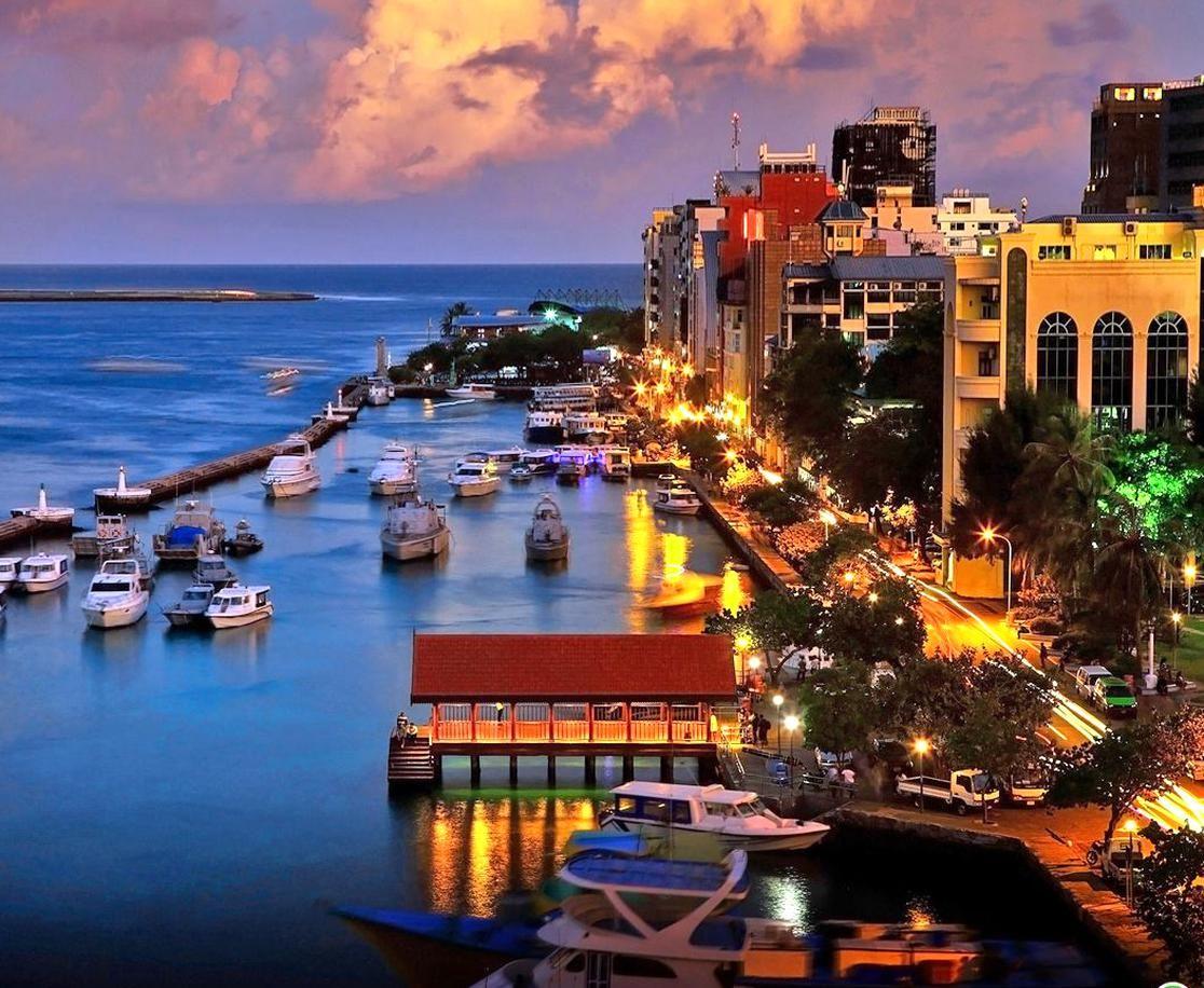 جزيرة مالية عاصمة المالديف