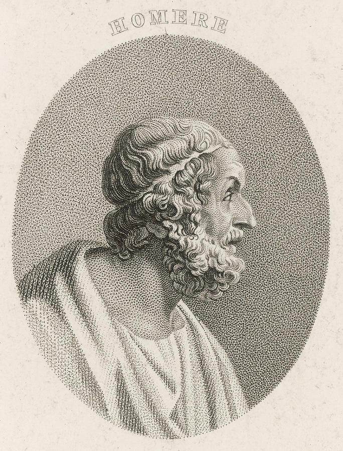 هوميروس الأعمى شاعر الألياذة و الأوديسا