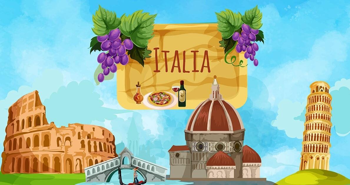 إيطاليا بلد الفن و الجمال