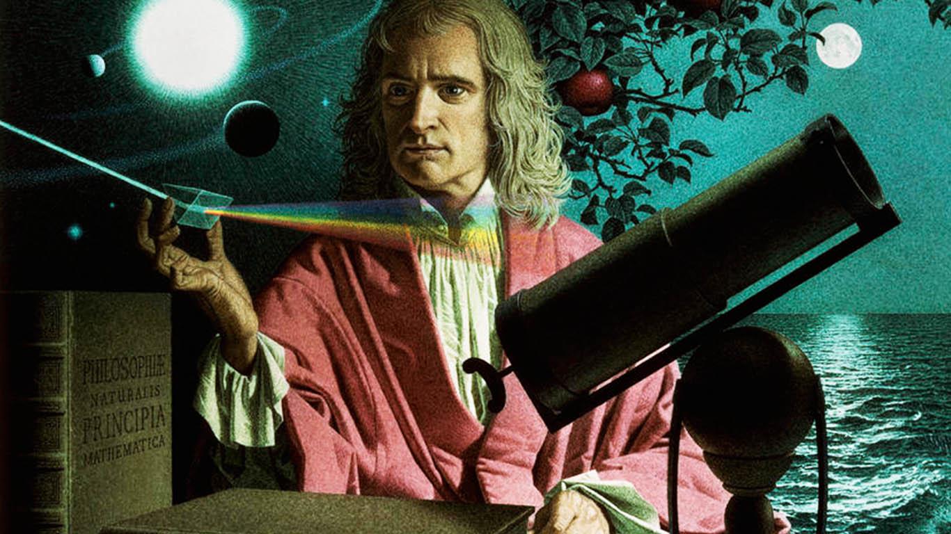 نيوتن مكتشف الجاذبية من هو ؟