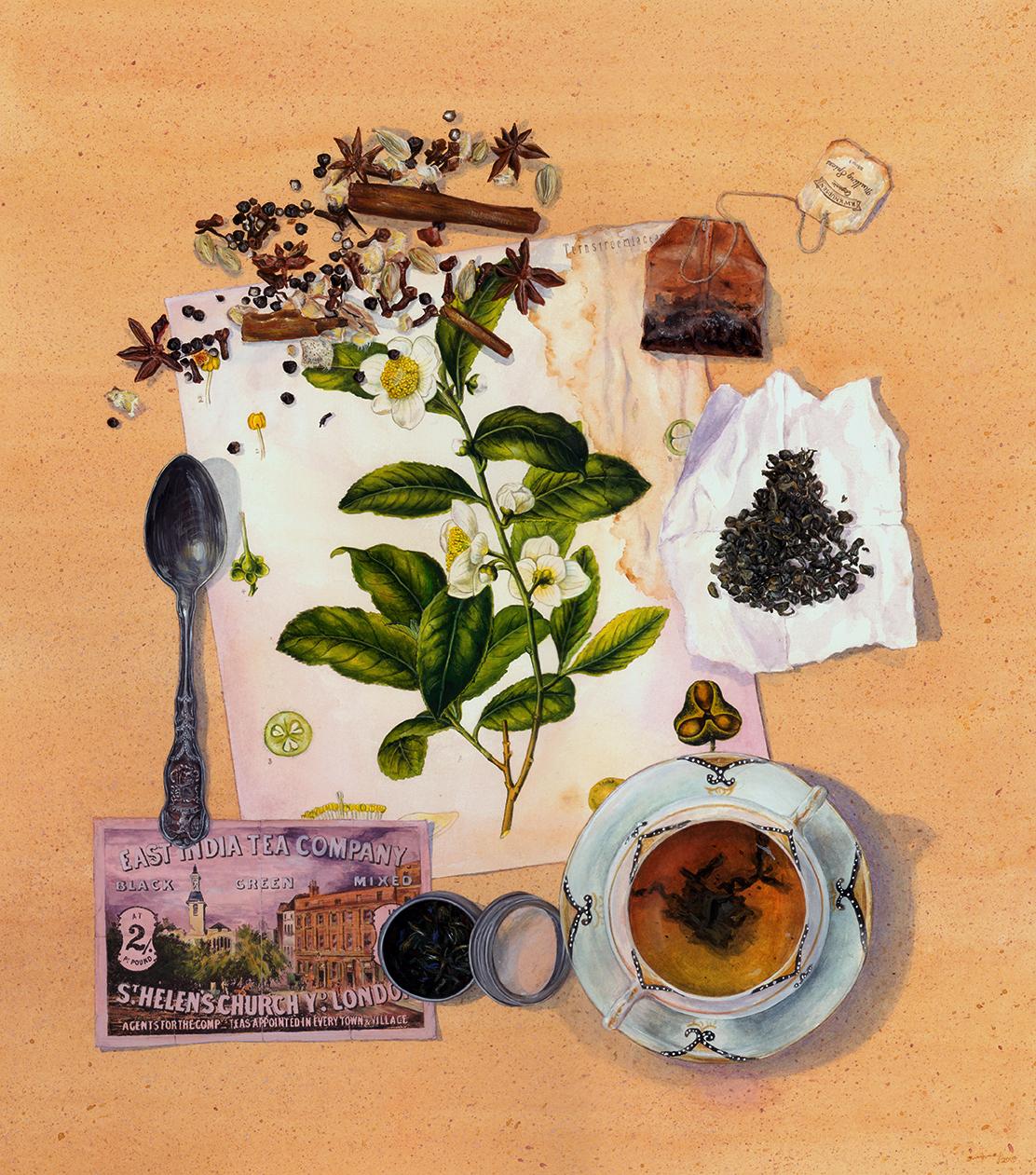 قصة الشاي كيف وصل إلينا هذا المشروب العريق