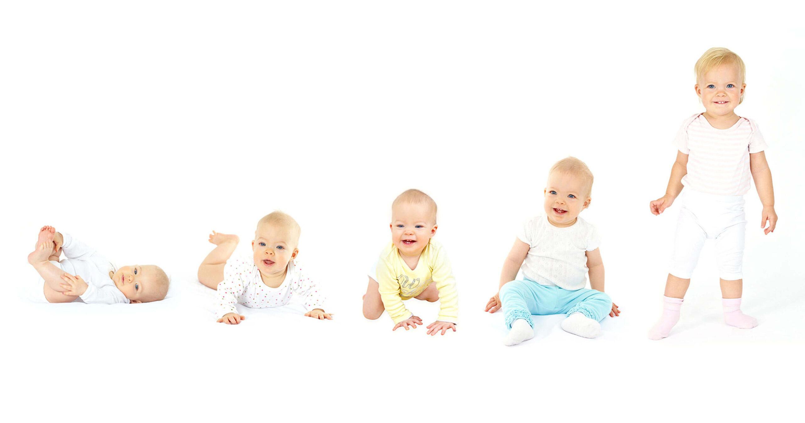 علامات تدل على نمو الطفل بشكل سليم