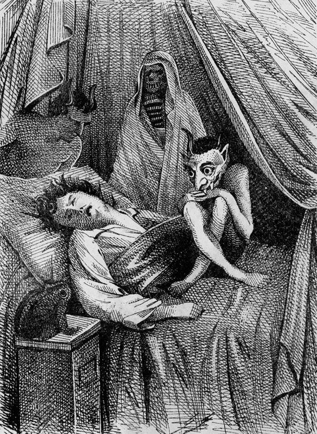 الجاثوم شلل النوم الرابوص