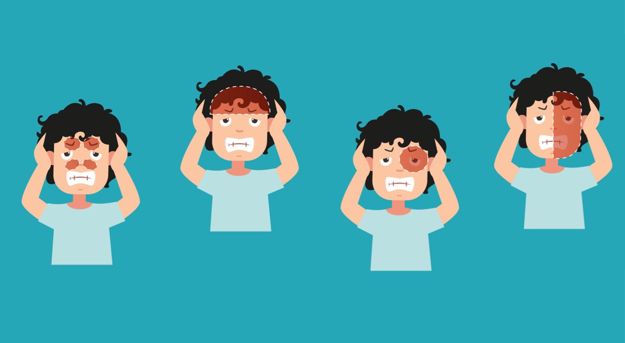 الصداع المزمن أعراضه و طرق علاجه