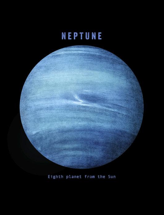 الكوكب الأزرق نبتون ذو ال 14 قمراً