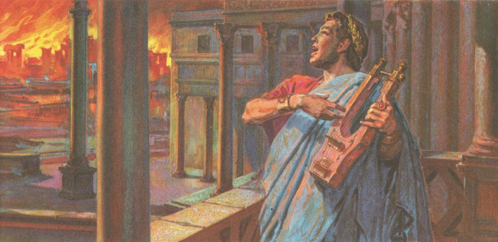 نيرون الظالم الذي قتل أمه و أحرق روما