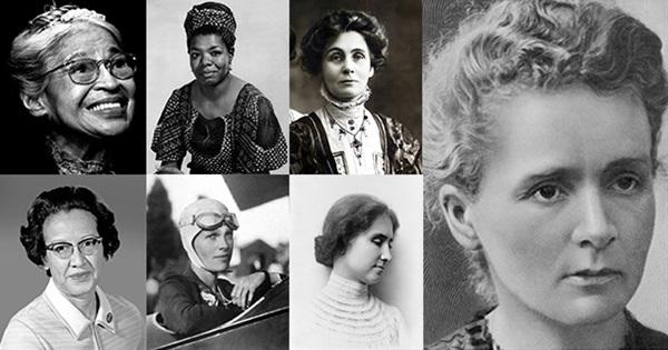 19 أهم امرأة في العالم، نساء غيرن التاريخ