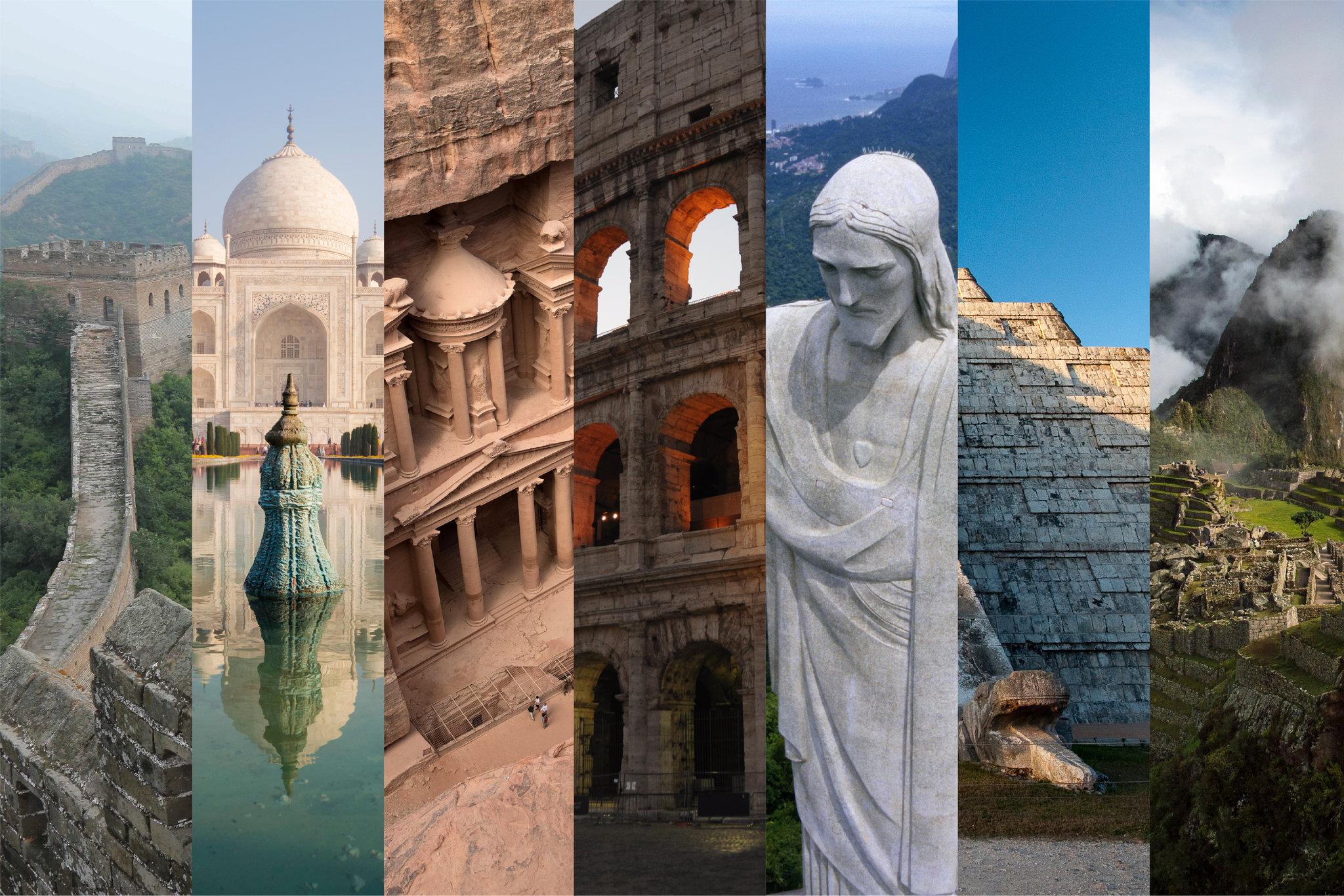 عجائب الدنيا السبع الجديدة، إحداها غير موجودة على الأرض تعرف عليها