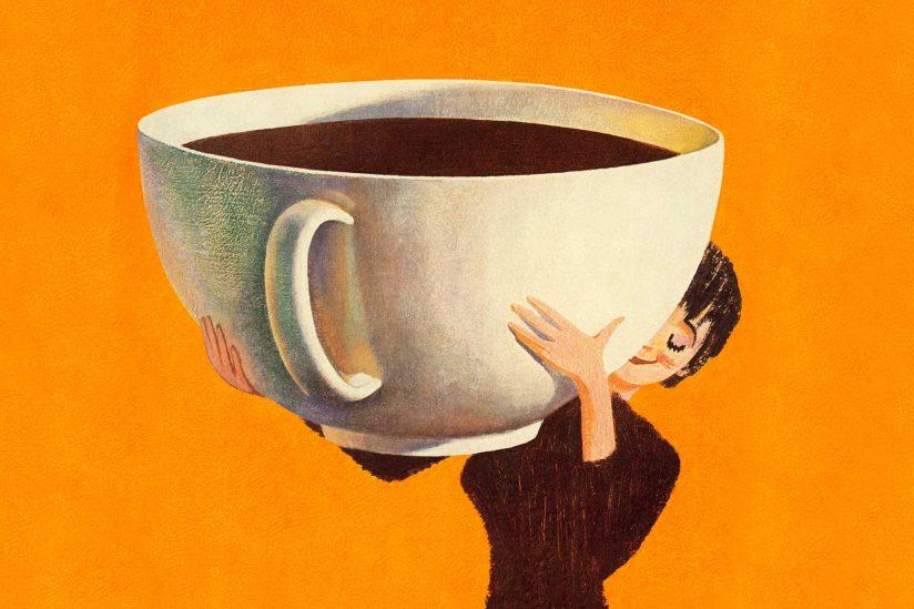 أضرار شرب القهوة على الريق