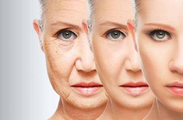 علامات التقدم في السن