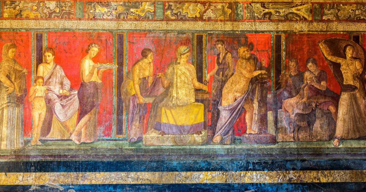 سر موت سكان مدينة بومبي الرومانية بالحمم ولم تحترق ملابسهم