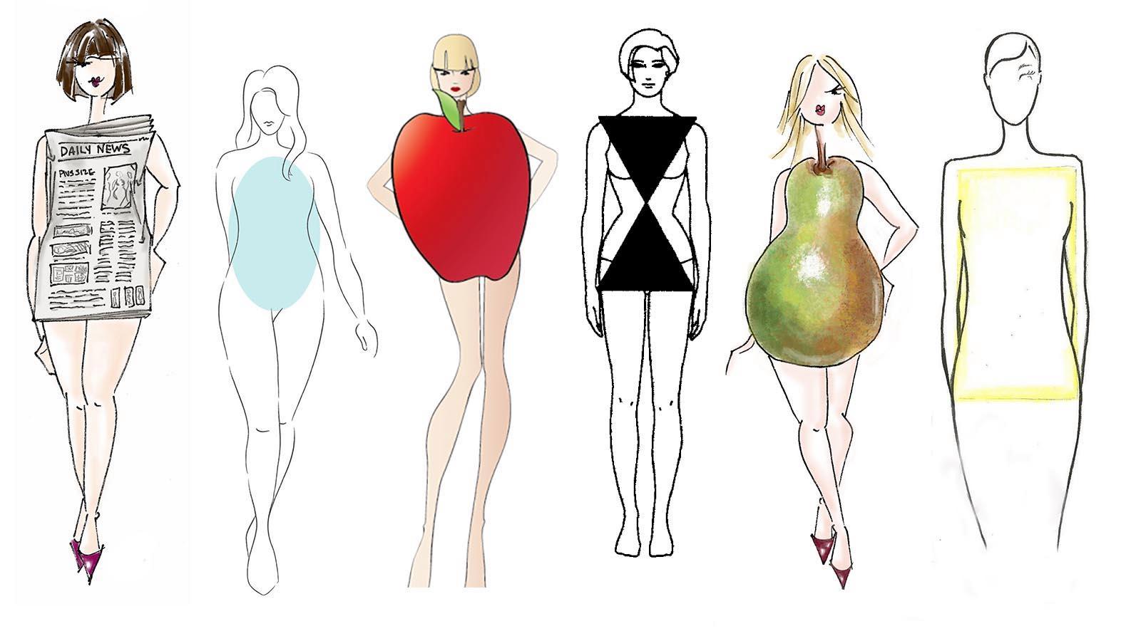 تعرف من شكل الجسم الخاص بك على النظام الغذائي الذي يناسبك