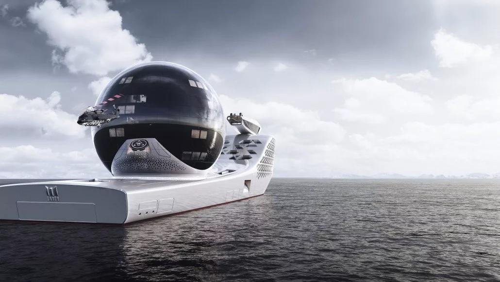تعرف على أكبر سفينة بعد التيتانيك .. بحجم ثلاثة ملاعب