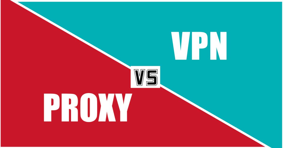 ما هو الفرق بين البروكسي و VPN