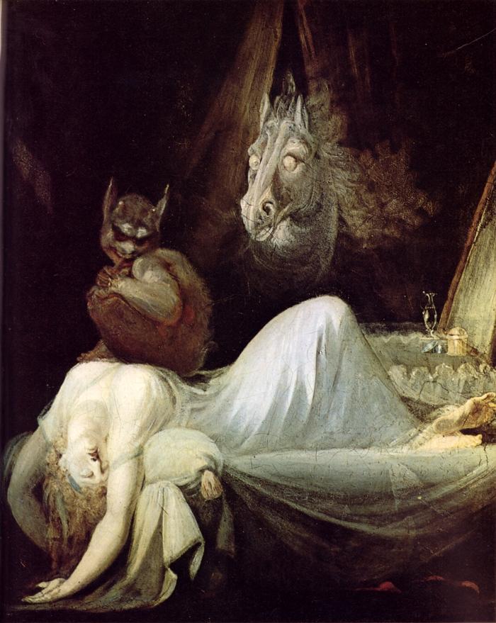 Henry Fuseli من هو هنري فوسيلي أعمال فوسيلي Lady Macbeth Seizing the Daggers The Nightmare