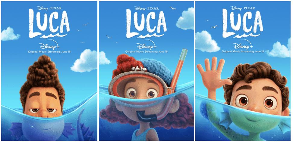 أفضل أفلام ديزني لعام 2021 أفلام مناسبة للكبار و الصغار Raya and the Last Dragon Luca Encanto