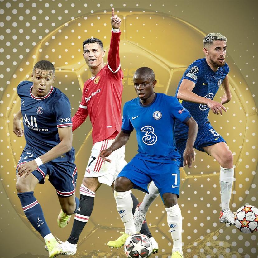 المرشحون الخمس للفوز ب الكرة الذهبية ل أفضل لاعب في العالم